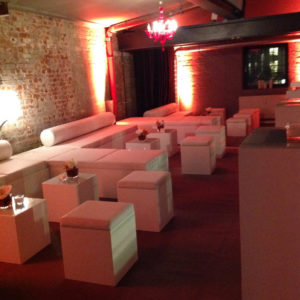 The Box Hamburg Commercial Hire White Chill Area