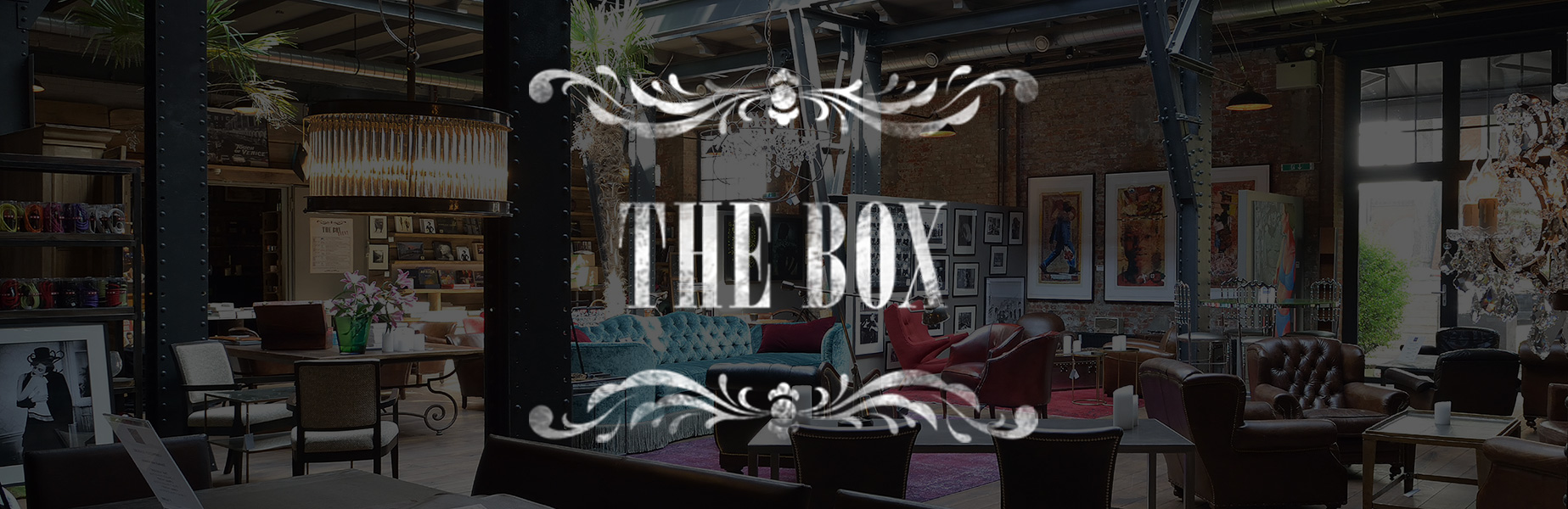 the box hamburg location concept store. Black Bedroom Furniture Sets. Home Design Ideas